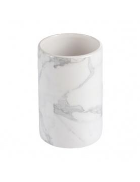 Gobelet en céramique à effet marbre