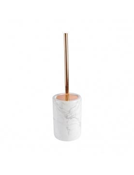 Brosse wc en céramique effet