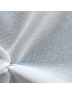Tissu en voile d'étamine unie et bas plombé