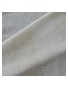 Tissu en étamine à rayures fantaisies