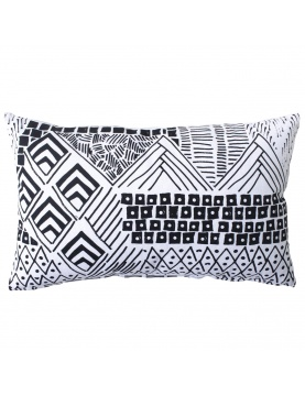 Coussin déhoussable neo ethnic
