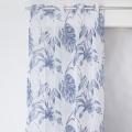 Voilage imprimé jungle (Bleu)