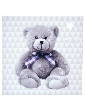 Toile lumineuse scintillante little bear