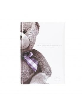 Journal de naissance Ourson