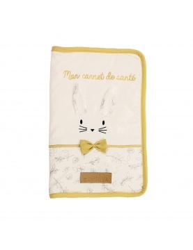 Protège carnet de santé Leafy Bunny