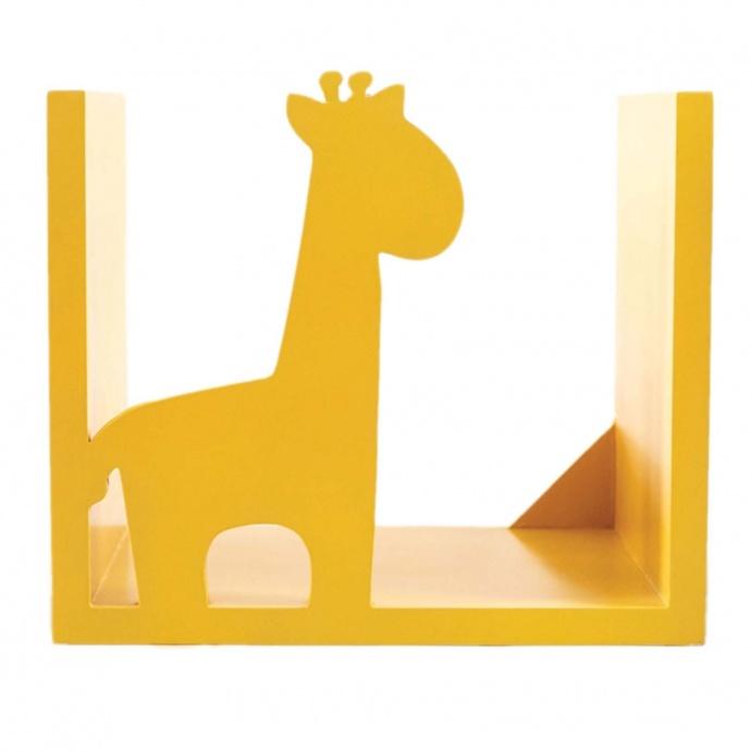 Étagère murale Girafe (Jaune)
