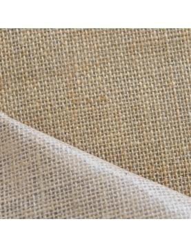 Toile de jute enduite largeur 130 cm