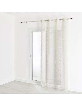 Visillo de estameña saco de mallas 140 x 240 cm