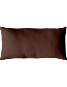 Coussin Non Déhoussable en Coton Uni  (Chocolat)