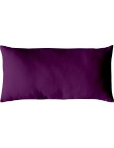 Coussin Non Déhoussable en Coton Uni  (Violet)