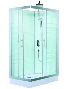 Cabine de douche Trend avec portes coulissantes