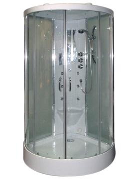 Cabine de douche Hammam 2 portes coulissantes