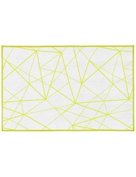 Tapis de bain à motifs géométriques