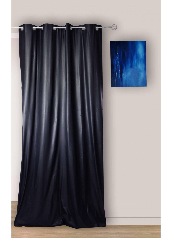 rideau uni occultant avec oeillet noir beige gris homemaison vente en ligne tous les. Black Bedroom Furniture Sets. Home Design Ideas