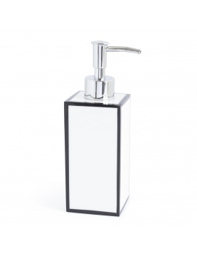 Distributeur de savon en résine bicolore