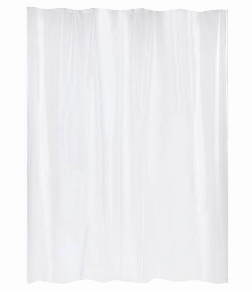 Rideau de douche Blanc