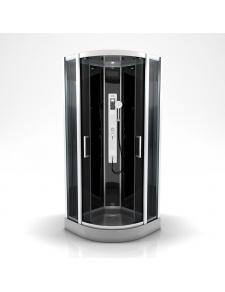 Cabine de douche ronde à multi jets