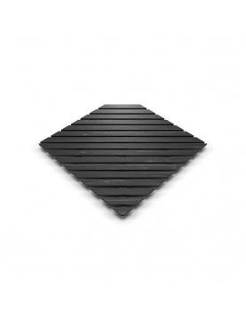 Caillebotis carré en bois composite
