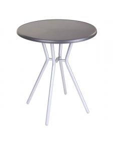 Table de jardin ronde en acier
