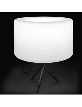 Lampe de table ronde d'extérieur