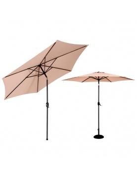 Parasol inclinable en aluminium de 300 cm