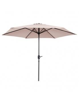 Parasol en aluminium de 270 cm
