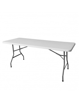 Table rectangulaire et pliante