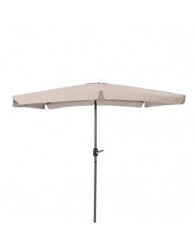 Parasol carré en aluminium