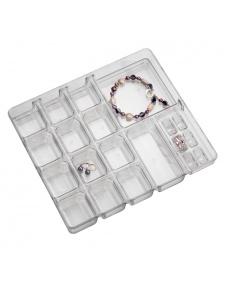 Boîte à Bijoux en Acrylique 40 compartiments