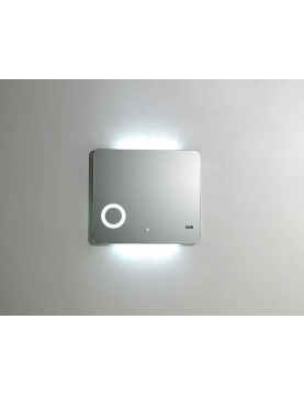 Miroir 'Led Silver Shadow'