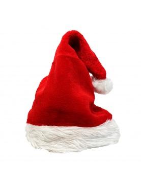 Bonnet de Père Noël en peluche
