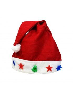 Bonnet de Père Noël lumineux