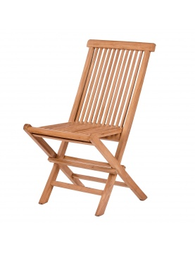 Lot de 2 chaises pliantes Gili