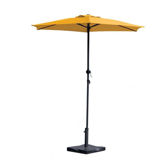 Parasol Centré Ø 2 m (Moutarde)