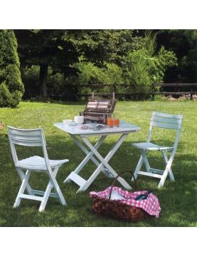 Ensemble table et chaises pliantes
