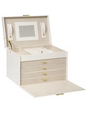Boîte à bijoux avec tiroirs
