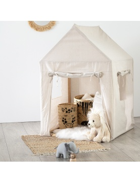 Cabane pour enfant en toile