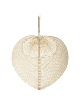 Eventail déco en bambou