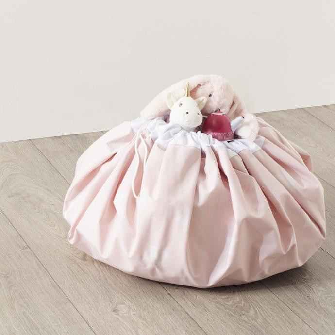 Tapis et sac de rangement (Rose)