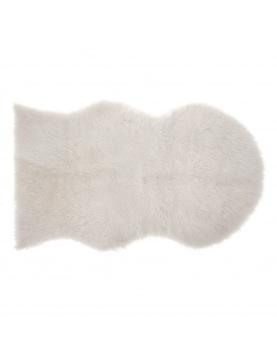 Tapis effet peau de mouton