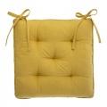Galette de chaise épaisse en velours (Vert)