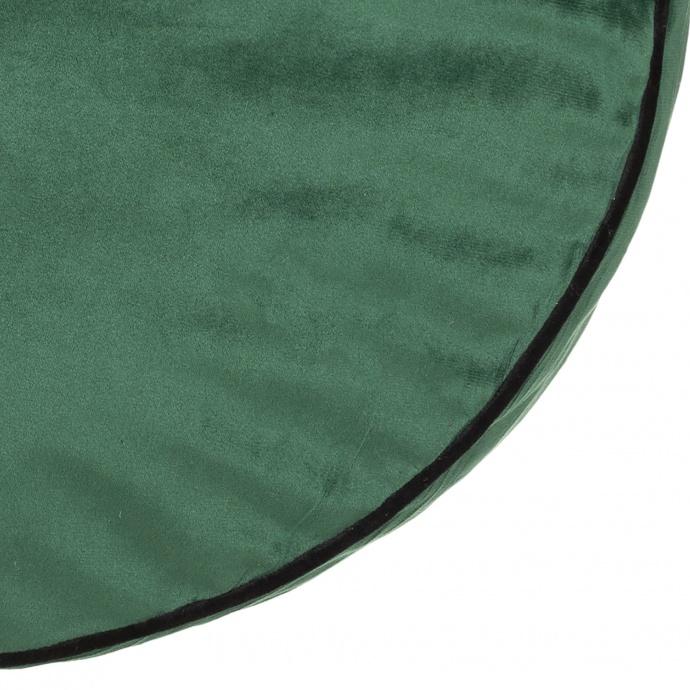Coussin de sol en velours (Vert)