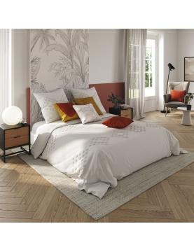 Parure de lit en coton lavé