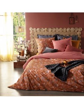 Parure de lit aux impressions fleuries