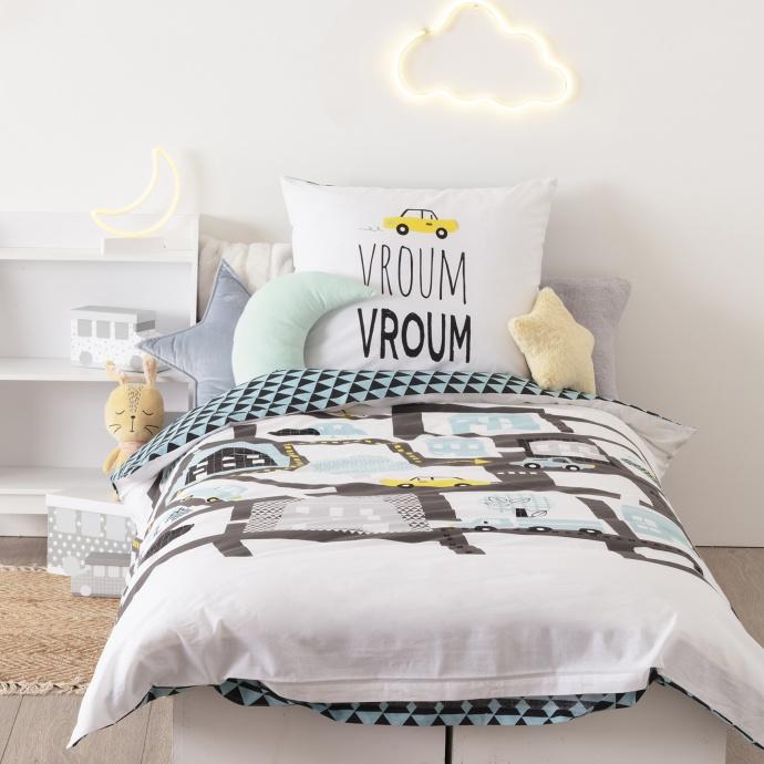 Parure de lit Voiture ( Multicolore)