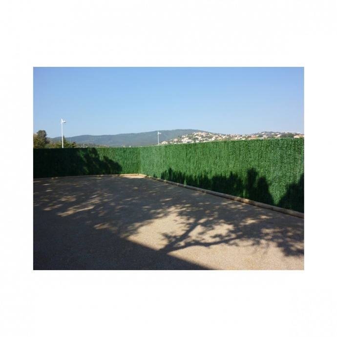 Haie végétale artificielle occultante 110 brins JET7GARDEN (Vert)