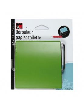 Dérouleur papier en vert mat