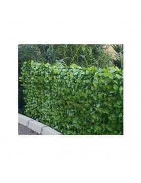 Haie végétale artificielle aspect feuilles de rosier JET7GARDEN