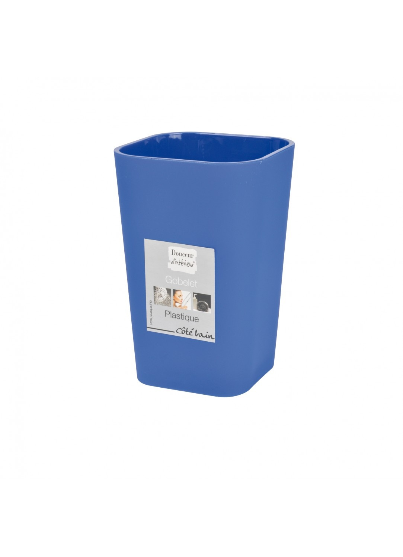 Gobelet en Plastique Effet Soft (Bleu Roi)