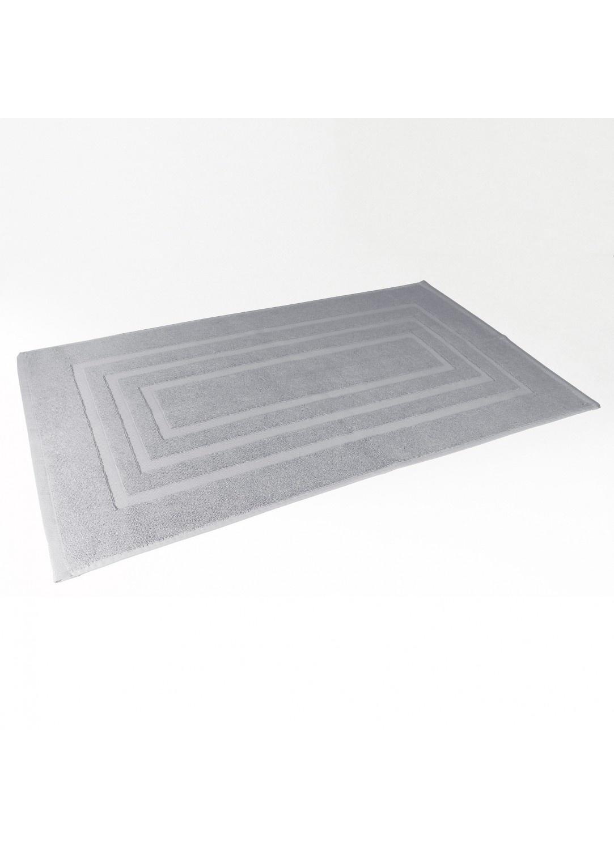 Tapis de Bain 50x85 cm Uni en Eponge (Gris)